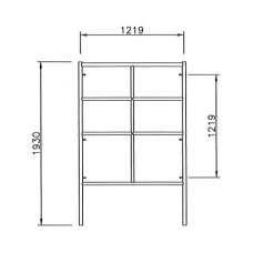 Ladder Frame 1219 x 1930mm