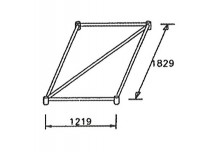 Horizontal Base Frame 1219 x 1829mm